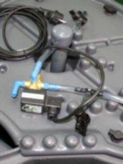Der Automatikdeckel - Einsatz verwandelt den Calictus Basic Halbautomaten in einen Automatikfilter.
